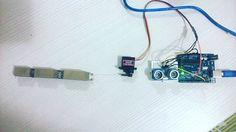 3d yazıcıdan çıkan ilk parmak  #3dprint #3d #arduino #servo #hcsr04 #arduinouno #inventor #develop #development #developer #design #ultimaker #ultimaker2 #ultimaker2go #ultimaker2extended #baskabirsey #changeworld @baska.bir.sey baska.bir.sey  @timurakkurt by baser_tech