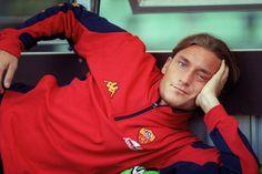 Francesco Totti (rouge-et-noir-eses @ tumblr)