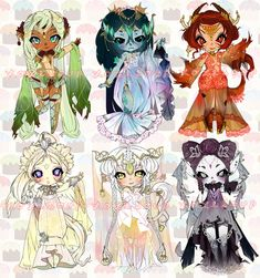 O: MYTHICAL ADOPTABLE AUCTION |6 HOURS LEFT| by Lolisoup.deviantart.com on @DeviantArt