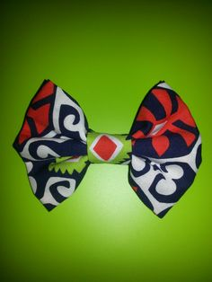 Vera Bradley Sun Valley Bow by ShopSouthernBowtique on Etsy, $5.00