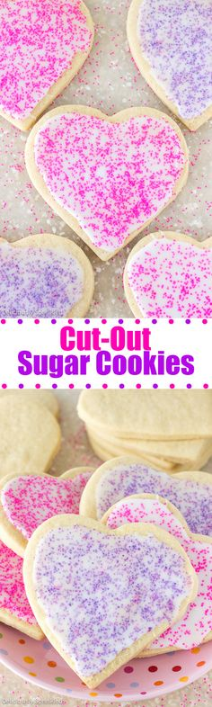 The BEST Cut-Out Sugar Cookies