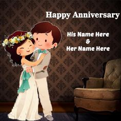 Birthday card maker with phot happy anniversary greeting card with name images. wedding anniversary card wishes with name edit. anniversary wish for beautiful couple greeting card with name pic. Happy Wedding Anniversary Wishes with name photo. Happy Wedding Anniversary Quotes, Anniversary Quotes For Couple, Anniversary Wishes For Couple, Happy Wedding Anniversary Wishes, Happy Anniversary Cakes, Happy Birthday Celebration, Funny Anniversary Cards, Birthday Wishes, Wedding Happy