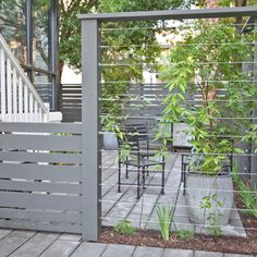 Horizontal Cedar Privacy Fence Design Ideas, Pictures, Remodel and Decor