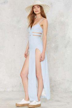 Nightwalker Shera Cutout Maxi Dress - Dresses
