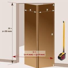 Pose De Porte En Galandage Façon Cloison Japonaise Cloison - Porte placard coulissante avec serrurier saint maur des fosses