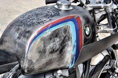 "Cafe Racer Pasión — BMW R100RS Cafe Racer ""schizzo"" by Walzwerkracing..."