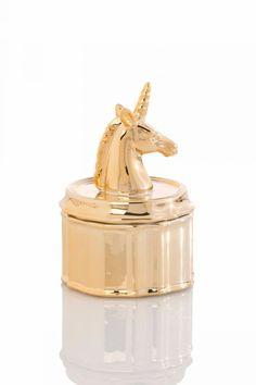 Shiraleah Jewelry Jar Unicorn, $9