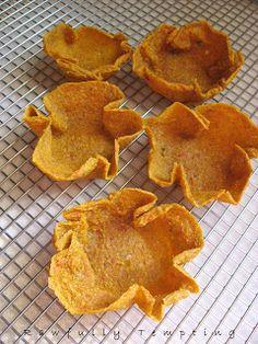 Rawfully Tempting™: Mini Jalapeno Taco Bowls/Shells