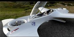 This is the DeLorean Aerospace flying car.