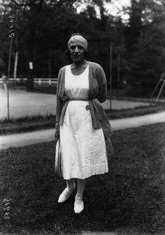 Suzanne Lenglen - 1920
