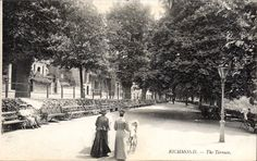 The Terrace, Richmond Richmond London, Richmond Upon Thames, Old London, Old Photos, Worlds Largest, Terrace, Street View, Prints, Outdoor