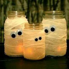 Gauze candles