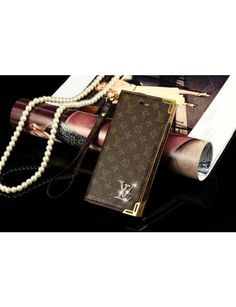 Leather Real Louis Vuitton iPhone 6 / 6 Plus Wallet Cases  -  How to Become a Celebrity – Great Gift - Group Board- Fashion - Coffee