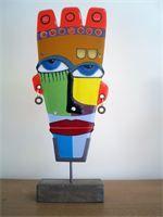 mask (1309): 18 x 45 cm ????