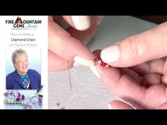 How to Make a Diamond Chain with Marlynn McNutt.