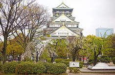 Travel Diary: Osaka Castle - Camille Tries to Blog Osaka Castle, Japan Travel, Explore, Mansions, House Styles, Building, Blog, Manor Houses, Villas