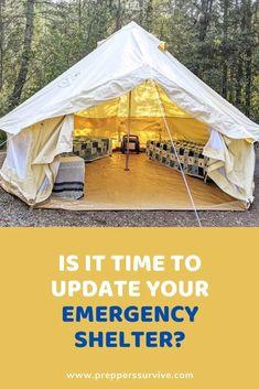Yukon Bell Tent Review - Elk Mountain Tents - Preppers Survive Urban Survival, Homestead Survival, Wilderness Survival, Survival Tips, Hurricane Preparedness, Emergency Preparedness Kit, Four Season Tent, Safety Topics