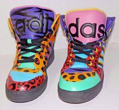 Adidas Jeremy Scott sz 7.5 Instinct Hi Animal Print Multi Lil Wayne Nikki Minaj | Clothing, Shoes & Accessories, Men's Shoes, Athletic | eBay!