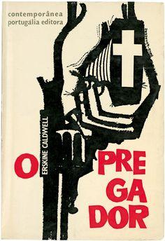 O pregador, Erskine Caldwell, Portugália Editora, Contemporânea 4, design…