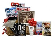 Just for Gents - The perfect pampering gift basket to cheer him up. Gift Baskets For Him, Xmas, Christmas, Cheer, Gift Ideas, Business, Gifts, Yule, Yule