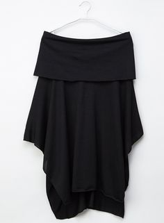 5a8d2e0c Fashion Casual Off Shoulder Irregular Loose Fit Solid Tee STYLESIMO.com How  To Wear Off