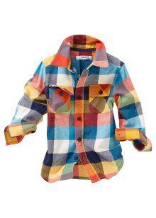 Overhemd, bpc bonprix collection, donkerblauw geruit