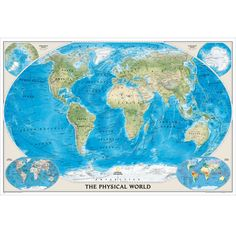 Earth at night map national geographic store maps pinterest world physical map poster size and laminated national geographic store gumiabroncs Images