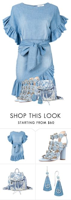 """Blue Petals"" by dprice1515 ❤ liked on Polyvore featuring Étoile Isabel Marant, Steve Madden and Jody Coyote"