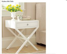 William Sonoma: Retail- Hudson Side Table 1790 for 2