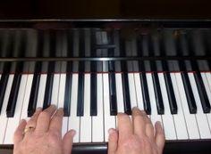 C Major, G Major, F Major Hand Positions on Piano