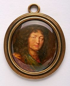 Miniatur Jean Petitot, in der Art des Ludwig XIV Der Ludwig, Ludwig Xiv, Miniature Portraits, French History, Louis Xiv, Versailles, Trees To Plant, Royalty, Ivory