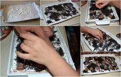 Σοκολατένιο γλυκό ψυγείου με cream crackers - cretangastronomy.gr Cream Crackers