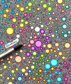 Ideas Drawing Doodles Zentangle Patterns Circles For 2020 Dibujos Zentangle Art, Zentangle Drawings, Doodles Zentangles, Doodle Drawings, Doodle Art, Zen Doodle, Flower Drawings, Drawing Flowers, Doodle Patterns
