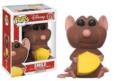Disney Ratatouille Spice up your collection to perfection! From Disney's Ratatouille comes this Emile figure. Packaged in a window display box, the Ratatouille Emile Pop! Vinyl Figure measures approximately 3 tall. Disney Pop, Walt Disney, Disney Pixar, Disney Movies, Figurines D'action, Pop Figurine, Pop Vinyl Figures, Pop Funko Rare, Tous Les Disney