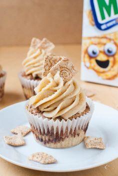 Zimtige Cini-Minis-Cupcakes - Atıştırmalıklar - Las recetas más prácticas y fáciles Mini Cupcakes, Cheesecake Cupcakes, Pumpkin Spice Cupcakes, Baking Cupcakes, Cupcake Recipes, Cupcake Cakes, Snack Recipes, Snacks, Cool Cupcakes