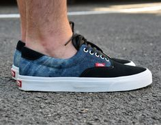 #Vans Era 59 Suede Denim #sneakers
