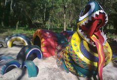 Tire dragon