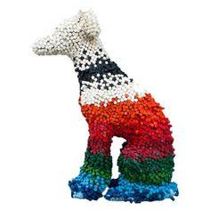Escultura galgo por paloma perez - Westwing.com.br - Tudo para uma casa com estilo