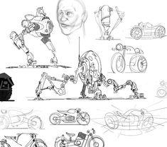 ArtStation - Sketches, Matt Tkocz