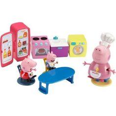Peppa Pig Kitchen Playset was £19.99 NOW £9.99 at Argos
