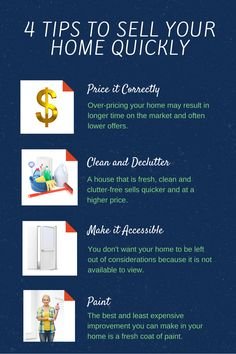4 Tips to Sell Your Home Quickly: https://anthonysellslakeconroe.wordpress.com/2015/05/15/4-tips-to-sell-your-home-quickly/
