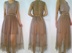 Boho 70s inspired ace back mexi sundress with gold by bloominjane