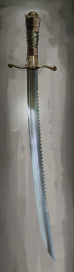 Assassins Creed Sawtooth Cutlass, This is totally Badass! Swords And Daggers, Knives And Swords, Katana, Assassins Creed 3, Cool Swords, Arm Armor, Weapon Concept Art, Fantasy Weapons, Medieval Fantasy