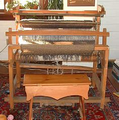 Memory: my loom in Atlanta & my girl's friends thought it was a piece of gym equipment!