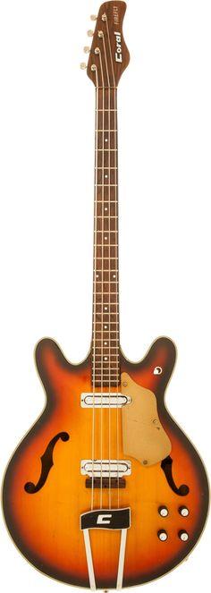 1968 Coral Firefly #LardysWishlists #Bass ~ https://www.pinterest.com/lardyfatboy/ ~