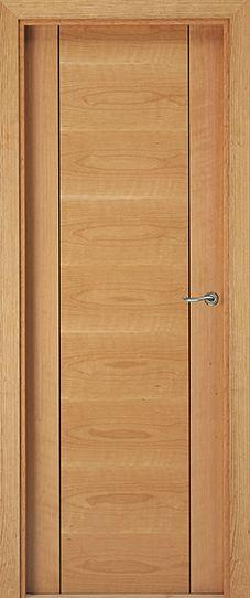 Contemporary timber doors - Puertas Eurodoor Wooden Front Door Design, Wooden Front Doors, Timber Door, Discount Interior Doors, Modern Wooden Doors, Room Door Design, Wardrobe Doors, Room Doors, Home Interior Design