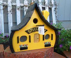 Pittsburgh Steelers Birdhouse....