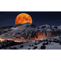 """""""Supermoon"""", May 5th, Sequoia National Park, CA"""