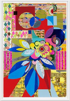 Love her stuff! It's been a while: Beatriz Milhazes