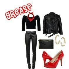 Grase 50's rocking girl outfit